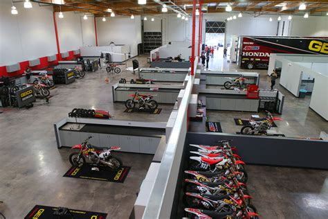 overview inside factory connection racing motocross