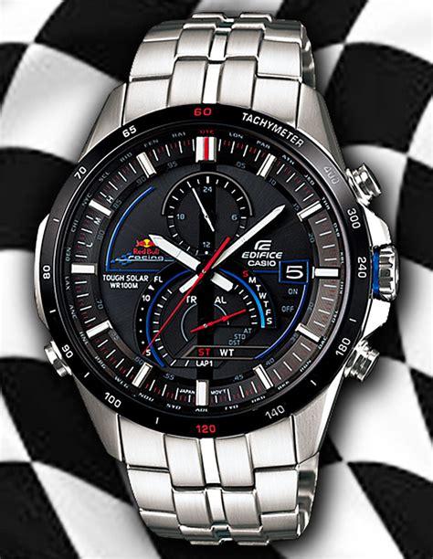 Casio Edifice Eqs A500 Redbull Racing White Silver 1 new bull x edifice eqw a1100rb eqs a500rb wrist