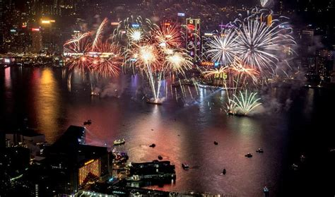 new year 2018 hk hong kong new year countdown and fireworks
