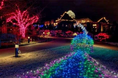 dominion gardenfest of lights 2011 video of lewis ginter