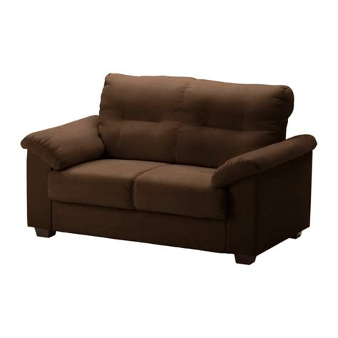 knislinge loveseat kungsvik brown ikea