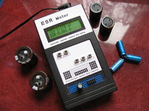 best capacitor esr tester c esr meter electrolytic capacitors tester