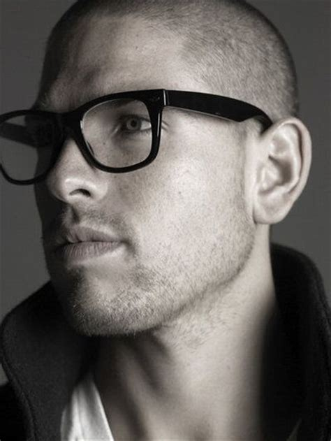 fashion glasses for bald men shaved head glasses my style pinterest sexy shaved