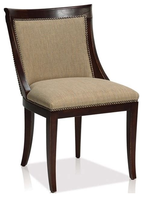 comfortable side chairs comfortable fabric transitional side chair transitional