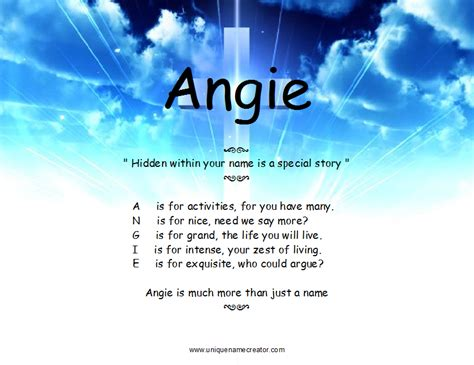 the meaning of angie quotes quotesgram