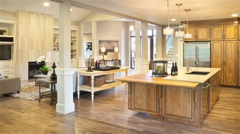 open floor plans with large kitchens house plans with large open kitchens house plans with open