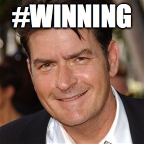 Charlie Sheen Winning Meme - charlie sheen imgflip