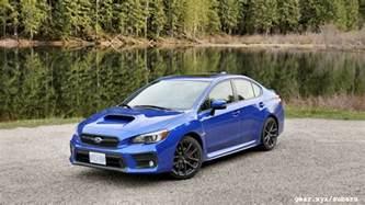 Subaru Wrx Performance 2018 Subaru Wrx And Wrx Sti Drive One Two