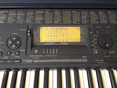 Lcd Keyboard Yamaha Psr 620 yamaha psr 620 for sale in ballina mayo from saitek