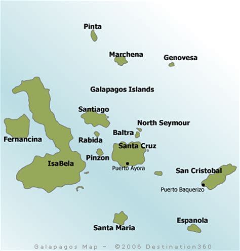 galapagos map guyij cinok map of the galapagos islands