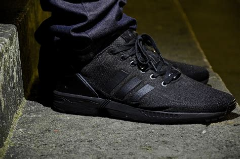 adidas full black adidas flux full black lesleypearson co uk