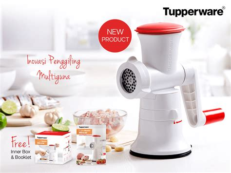 Tupperware Penggiling Daging fusion master mincer tupperware katalog promo tupperware