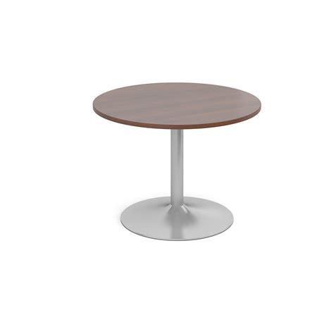 Circular Boardroom Table Trumpet Base Circular Boardroom Table Stockworld