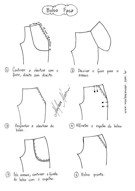 Como colocar bolso em Calça   Sewing patterns, Sewing