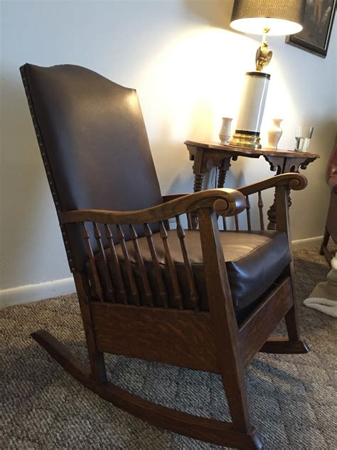 antique rocking chair identification  style