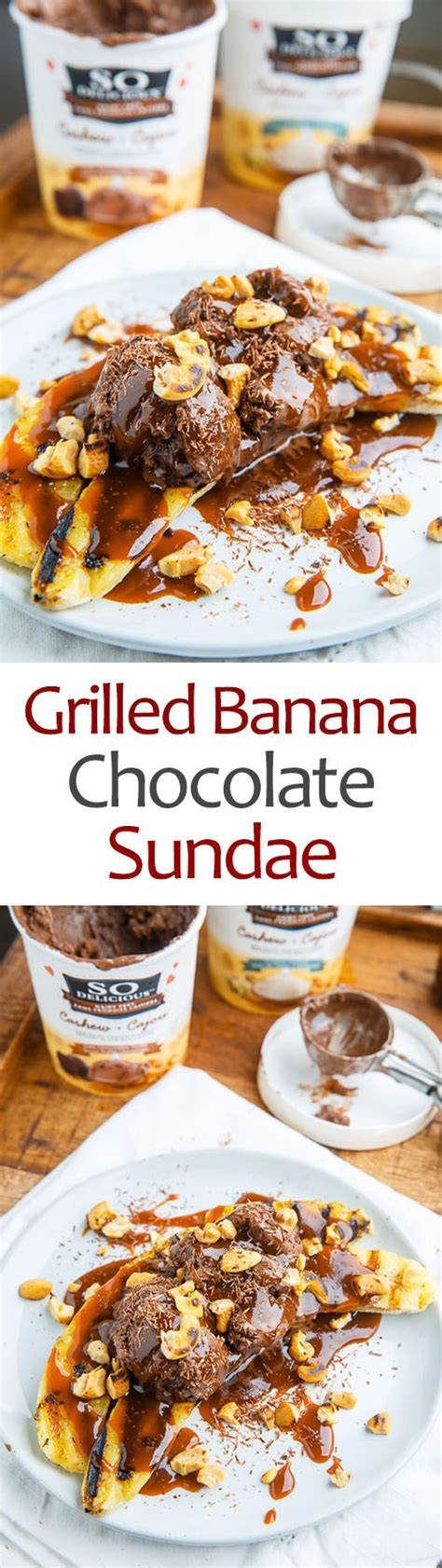 grilled bananas and pineapple with grilled pineapple and banana sundaes with caramel sauce and cashews recipe sauces grilled