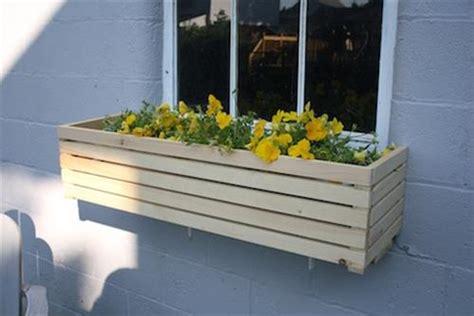 Build Window Planter Box by Diy Window Box Diy Craft Projects