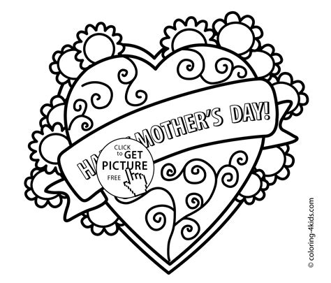 mothers day coloring pages for toddlers s day coloring pages for printable free
