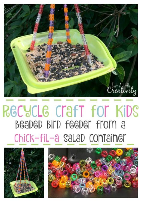 8 easy diy recycling crafts its time to empty recyle bin just a little creativity recycle craft for kids beaded