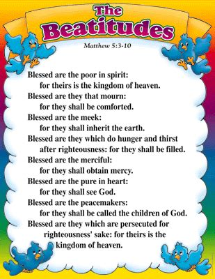 printable version of the beatitudes this upside down lifestyle blogsense by barb