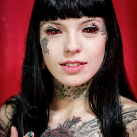 sclera tattoo eyeball tattoos disturbing or not seriously for
