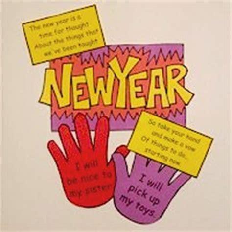 new years handprint crafts handprint new year s resolution