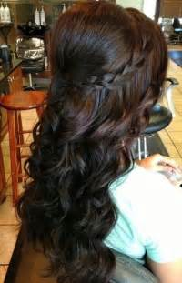 hairstyles with half of in braids 16 great prom hairstyles for girls pretty designs