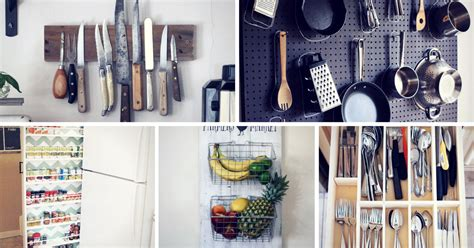 diy kitchen organization ideas 15 innovative diy kitchen organization storage ideas