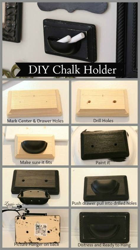 diy chalkboard holder diy chalk holder