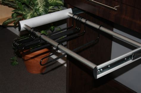 Closet Pull Rack by Closet Accessories Pull Out Pant Rack Closet Organizers