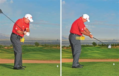 start golf swing with hips butch harmon how to start the downswing golf digest