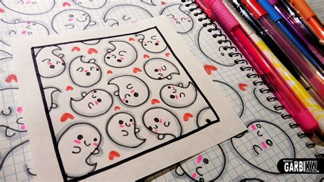doodle ghost ghosts how to draw patterns for your doodles by