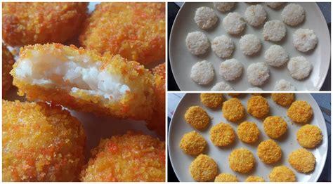 cara buat nugget ayam sendiri resepi nugget nasi frozen untuk anak anda yang susah makan