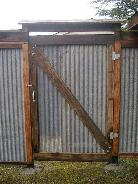 Cheap Kitchen Backsplash Panels by All Recycled Corrugated Metal Fence Lush Planet Design