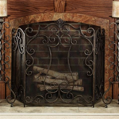 timber wolf fireplace screen on custom fireplace quality