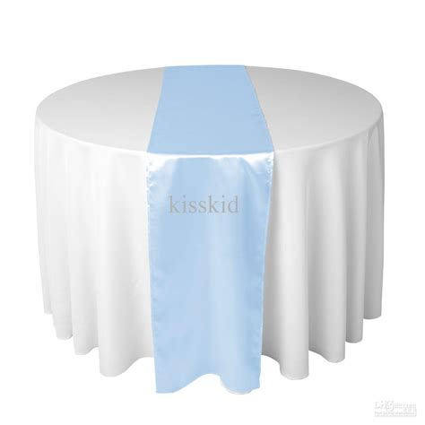 baby blue table runner baby blue satin table runners 12 x 108 wedding