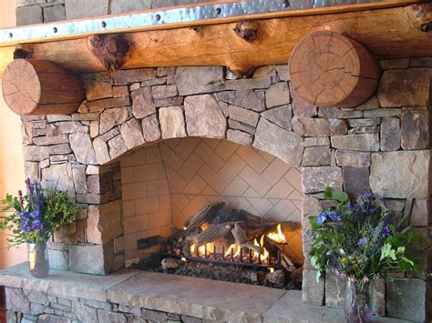 Rocks For Fireplace by 10 Brilliant Fireplace Rocks For Living Room Ward Log Homes