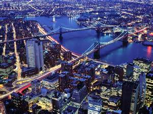 Brooklyn and manhattan bridges new york city hqworld net high