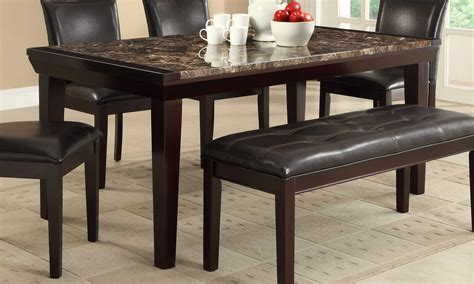 Faux Marble Top Dining Table Thurston Dining Table Faux Marble Top Dining Tables He 2545 68 1