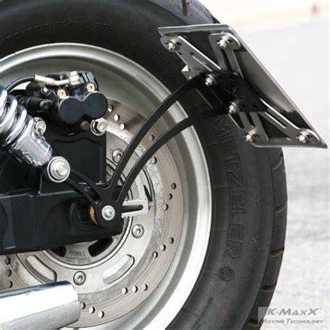 Seitlicher Kennzeichenhalter F R Motorrad by K Maxx Moving Technology Motorrad Technik Motorrad