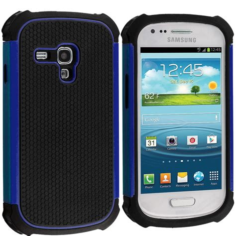 s3 rugged for samsung galaxy s3 mini hybrid rugged matte soft shockproof cover ebay