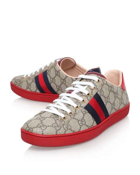 The Best Gucci Seprem 1 Gucci Ace Gg Supreme Low Top Sneaker In Save 18 Lyst