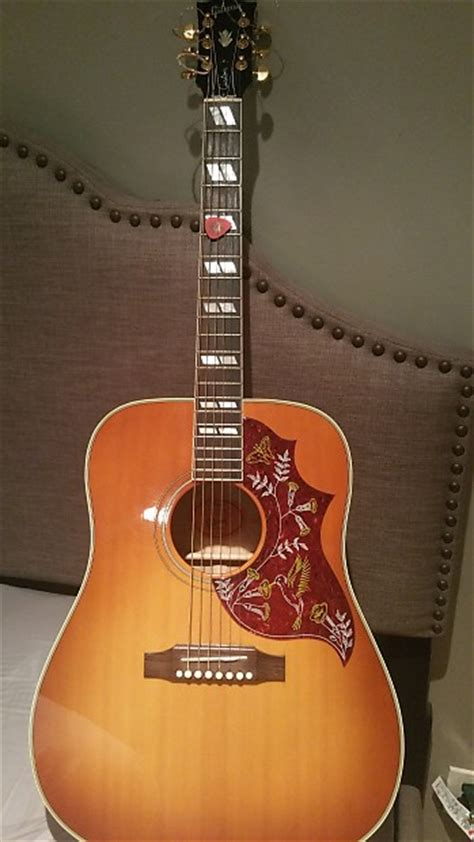 Gibson Hummingbird Quilted Maple by Gibson Hummingbird 2007 Custom Quilt Maple Limited Edition