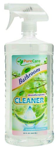 septic safe bathroom cleaners pure care natural non toxic bathroom cleaner 32oz spray