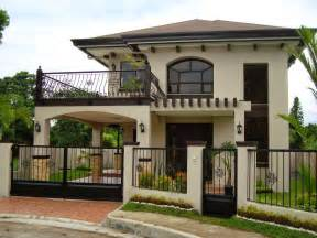 Two Story Homes by 30 Beautiful 2 Storey House Photos Bahay Ofw
