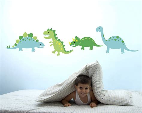 dinosaur wall stickers by the blue owl
