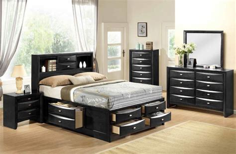 black bedroom furniture set global furniture linda black bedroom set