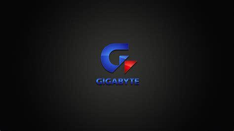 gigabyte logo hd wallpaper wallpaperfx