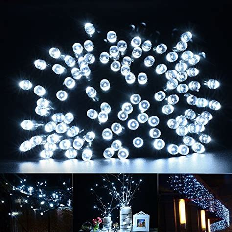 Solar Twinkle Lights Outdoor Cymas String Lights 200 Led Solar Outdoor Twinkle