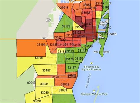 zip code map miami car insurance in miami dade is 54 percent more expensive